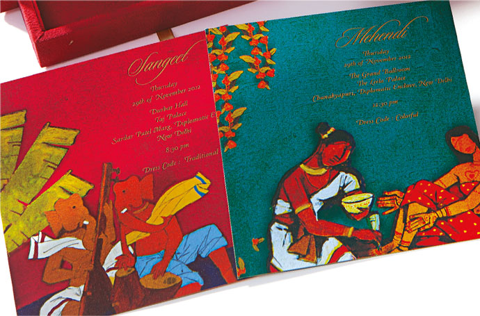 Handcrafted Invitation Cards