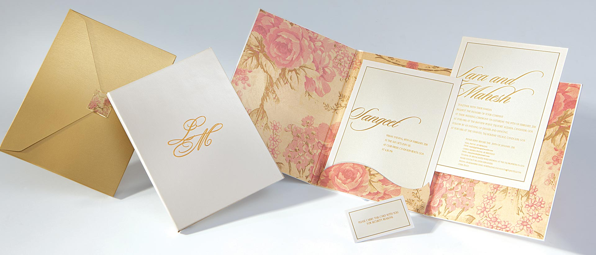 exclusive wedding cards